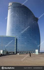 100 Barcelona W Hotel Hotel Building Stock Editorial Photo Stepanp 193533172