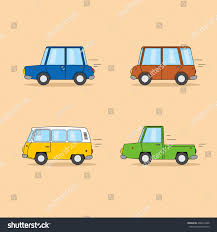 Set Of Funny Cartoon Cars: Sedan, Minivan, Hippie Van, Pickup Truck ... Old American Blue Pickup Truck Vector Illustration Of Two Cartoon Vintage Pickup Truck Outline Drawings One Red And Blue Icon Cartoon Stock Juliarstudio 146053963 Cattle Car Farming Delivery Riding Car Royalty Free Image Cute Driving With A Christmas Tree Art Isolated On Trucks Download Clip On 3 3d Model 15 Obj Oth Max Fbx 3ds Free3d White Background
