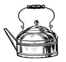 Broken Coffee Pot 1500x1402 Vintage Kitchen Clip Art