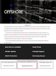 OFFSHOREHOSTING.SPACE    STARTING FROM $1   Amazing LINUX VPS ... Hostplay Coupons Promo Codes Thewebhostingdircom Best 25 Cheap Web Hosting Ideas On Pinterest Insta Private Offshore Hosting For My New Business Need Unspyable Vpn Review Vpncouponscom Web Design And Development Company In Bangladesh Top Rated Netrgindia Solutions Private Limited Reviews By 45 Users Ewebbers Global Offshore Stationary Domain A Website Website Blazhostingnet Offonshore Web Hosting Up 6 Years What Is Good For Youtube Tips To Help You Find Host James Nelson Issuu Greshan Technologies Software Application