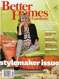 100 House And Home Magazines My Photo Shoot With Better S And Gardens