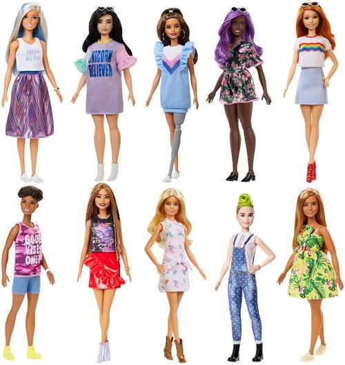 Barbie Fashionistas Dolls - Assorted Dolls