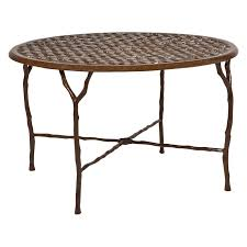 Telescope Patio Furniture Granville Ny by Telescope Casual 48 In Round Synthestone Table Hayneedle