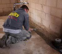 perimeter drain system exterior cost footing pipe tile