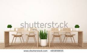 Dining Area Or Workspace In Office Coffee Shop