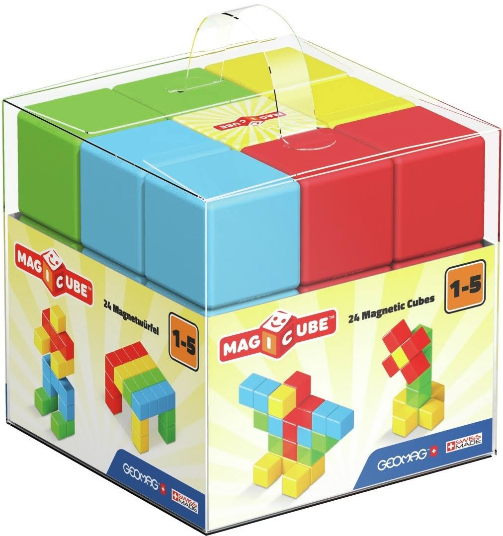 Geomag Magicube Play Set - 24pcs Set