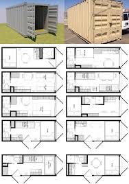 100 Shipping Container House Floor Plans 20 Foot Plan