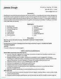 Banking Customer Service Sample Resume Cover Letter For Job Best New