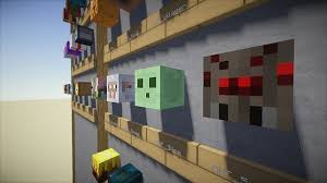 Decoration heads Collection Minecraft Project