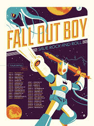 This Is A Very Cool Example Of Concert Posters As Art You Can Buy The