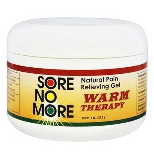Sore No More Natural Pain Relieving Gel Warm Therapy - 4 oz