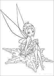 Tinkerbell Coloring Pages Free And
