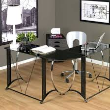Black Writing Desk Uk by Office Design Glass Office Desk Accessories Glass Office Desk