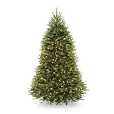 5ft Pre Lit White Christmas Tree by Home Accents Holiday 7 5 Ft Pre Lit Dunhill Fir Hinged Artificial