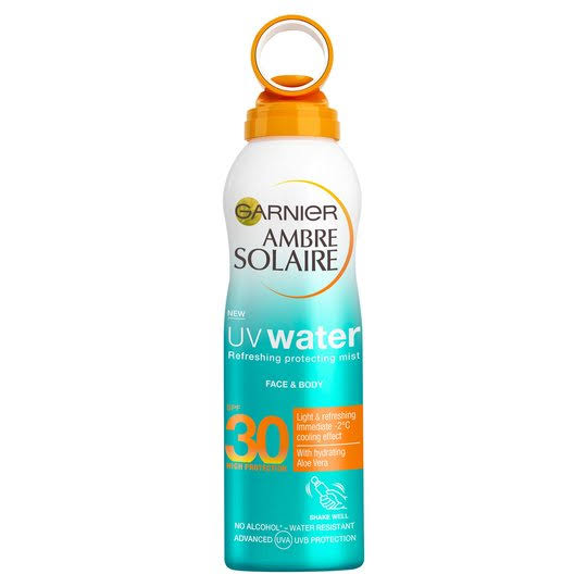 Ambre Solaire UV Water Clear Sun Cream Mist - SPF30, 200ml