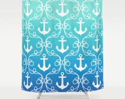 nautaical flag shower curtain Nautical Shower Curtain with