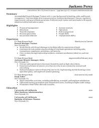 Show Example Of Resumes