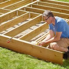 8x8 Pool Deck Plans by Platform Deck