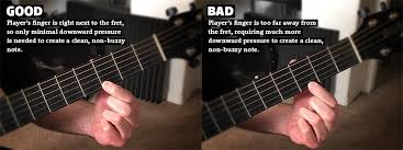 Bad Fretting Technique Can Cause Guitar String Buzz