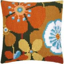 Ehrman Needlepoint Kit Thistle Cushion Kit Art Nouveau Style