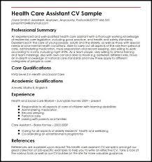 Social Work Resume Examples Lovely Sample Cv For Care Assistant Yeniscale Information