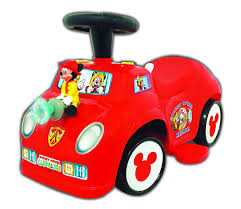 100 Mickey Mouse Fire Truck Buy Disney 2in1 BatteryPowered Train With Trailer In