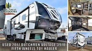100 Used Airstream For Sale Colorado USED 2017 DUTCHMEN VOLTAGE 3970 FIFTH WHEELS TOY HAULER GREELEY COLORADO DEALER