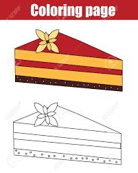 Coloriage à Imprimer Un Gâteau