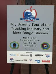 100 Truck Transportation Merit Badge Mid America Ing Show Boy Scouts Event 2016