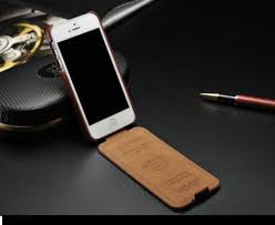 6 and 6S Leather Flip Case Cover