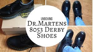 $28 Dr Martens Unboxing Dr Martens 8053 Derby shoes from