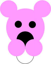 Green Colours Craft Pink Panther