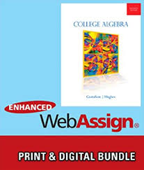 Bundle College Algebra 11th WebAssign Printed Access Card For Gustafson Hughes Single Term