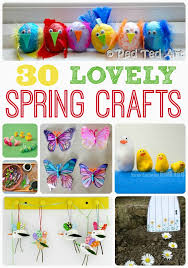 Spring Crafts Activities For Kids