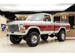100 Ford 4x4 Trucks For Sale 1979 F150 Ranger 4X4 Pickup For ClassicCarscom CC1077600