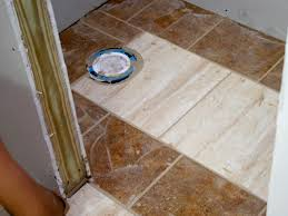 Half Bathroom Theme Ideas by Wainscoting And Tiling A Half Bath Hgtv Half Bathroom Tile Floor