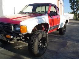 100 Fiberglass Truck Fenders 19841988 Toyota Pickup Ivan Dan Style Hood And Fender Conversion