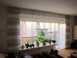 gardinen wohnzimmer schiebevorhang schiebegardinen für