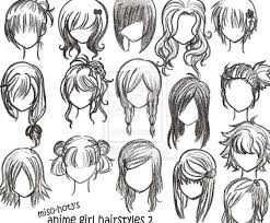Medium Size Of Coloring Pageselegant How To Draw Hair Easy Random Drawings Simple