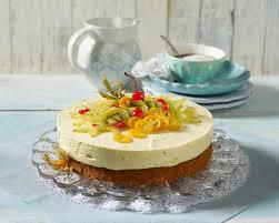 exotik traum torte mit exotischen früchten