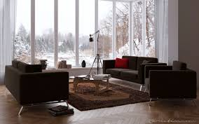 Dark Brown Sofa Living Room Ideas by Living Room Fabulous Living Room Decorating Ideas With Glazed