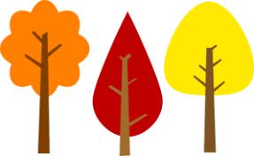 Fall Trees Clip Art