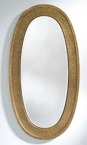 casa padrino luxus spiegel gold 89 x 5 x h 170 cm eleganter ovaler wandspiegel garderoben spiegel wohnzimmer spiegel luxus deko accessoires