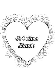 Coloriage Pour Maman Je T Aime With Coloriage Bonne Fete Maman