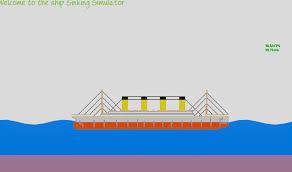 Ship Sinking Simulator Play Free by Sinking Simulator