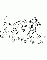 Coloriage Chien 101 Dalmatiens À Imprimer Sur Coloriages Tout