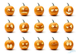 Scary Stencils For Pumpkins by Scary Pumpkin Faces The Amateur Zoologist Halloween Fun Craft