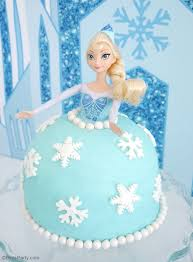 How to Make an Elsa Doll Birthday Cake Party Ideas