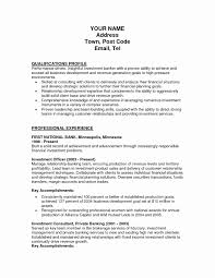 Commercial Banker Cover Letter Luxury Business Resumes Resume Sample Personaltionship Examples