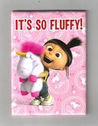Despicable Me Movie Agnes Unicorn Its So Fluffy